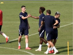 OLYMPIC GAMES - TOKYO 2020 - FOOTBALL - PRACTICE FRENCH TEAM - 20210720