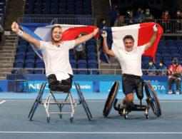 (1) Nicolas PEIFER_Stéphane Houdet_Tokyo Tennis fauteuil double @Crédit Grégory Picout