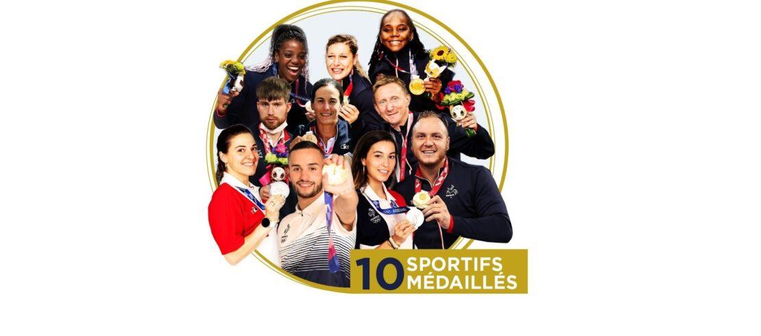 10 Médaillés - 4